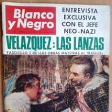 Coleccionismo de Revista Blanco y Negro: BLANCO Y NEGRO-Nº2848-AÑO 3/12/1966-VELAZQUEZ-LOS DUQUES DE WINDSOR-PICASSO-MONACO. Lote 39947760