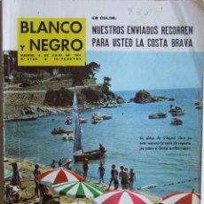 Coleccionismo de Revista Blanco y Negro: LA COSTA BRAVA S'AGARO MARTIN BAHAMONTES REVISTA BLANCO Y NEGRO 2722 DE 1964. Lote 83592514