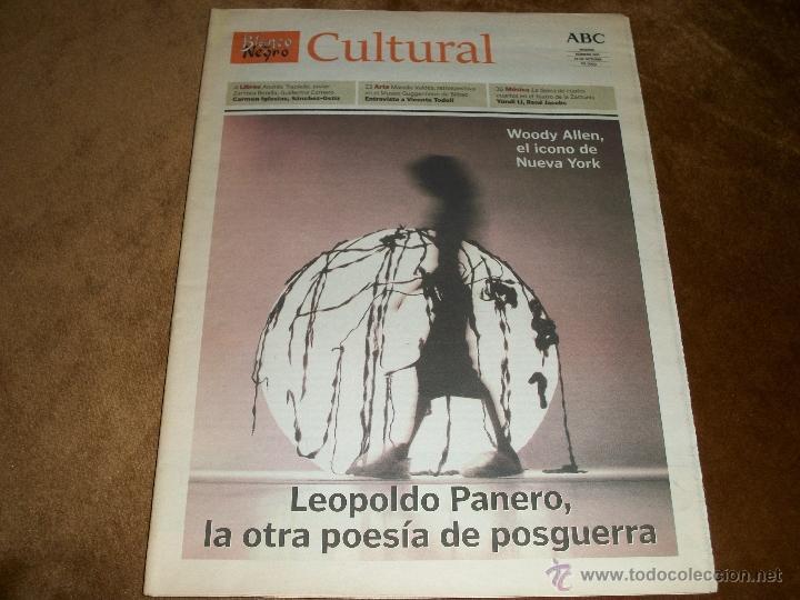 BLANCO Y NEGRO CULTURAL (Coleccionismo - Revistas y Periódicos Modernos (a partir de 1.940) - Blanco y Negro)