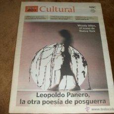 Coleccionismo de Revista Blanco y Negro: BLANCO Y NEGRO CULTURAL. Lote 40147014