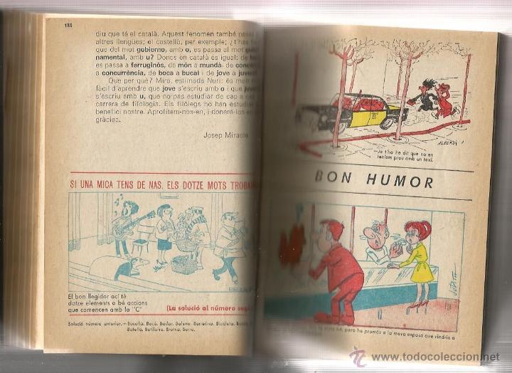 Coleccionismo de Revista Blanco y Negro: TOMO ENCUADERNAT PATUFET ( SEGONA EPOCA, 1968-69) - Foto 4 - 40269771
