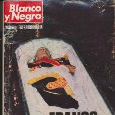 Coleccionismo de Revista Blanco y Negro: BLANCO Y NEGRO Nº 3316. FRANCO MUERTO.. Lote 40967324