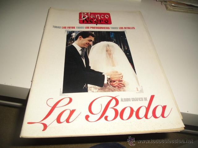 BLANCO Y NEGRO.- ALBUM GRAFICO DE LA BODA DE LOS DUQUES DE LUGO.- 26 MARZO 1995 (Coleccionismo - Revistas y Periódicos Modernos (a partir de 1.940) - Blanco y Negro)