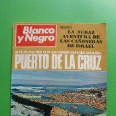 Coleccionismo de Revista Blanco y Negro: BLANCO Y NEGRO Nº 3011 17/01/1970 PUERTO DE LA CRUZ - MINGOTE EN COLOR - RADIO ANDORRA - COCA COLA . Lote 42374097