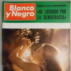 Coleccionismo de Revista Blanco y Negro: REVISTA BLANCO Y NEGRO. Nº 2906. 1968. CUANDO EL FLAMENCO SE LLAMA LA POLACA. Lote 42483583
