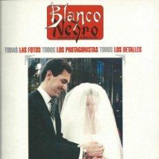 Coleccionismo de Revista Blanco y Negro: BLANCO Y NEGRO ALBUM GRAFICO DE LA BODA DE ELENA Y JAIME DE MARICHALAR. Lote 42498945