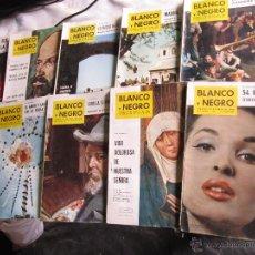 Coleccionismo de Revista Blanco y Negro: BLANCO Y NEGRO 10 REVISTAS AÑOS 60.. Lote 43195308