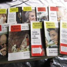 Coleccionismo de Revista Blanco y Negro: BLANCO Y NEGRO 10 REVISTAS AÑOS 60.. Lote 43195424