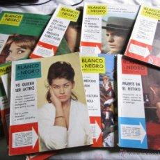 Coleccionismo de Revista Blanco y Negro: BLANCO Y NEGRO 10 REVISTAS AÑOS 60.. Lote 43195479