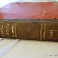 Coleccionismo de Revista Blanco y Negro: TOMO 1 DE LA REVISTA BLANCO Y NEGRO DE 1901. Lote 43221213