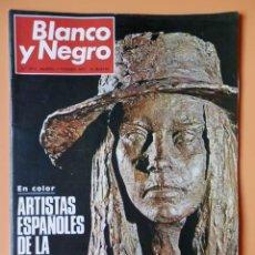 Collectionnisme de Magazine Blanco y Negro: BLANCO Y NEGRO. 7 FEBRERO 1970. ARTISTAS ESPAÑOLES DE LA ESCUELA DE PARÍS. Nº 3014 - DIVERSOS AUTORE. Lote 43525020