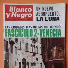 Collectionnisme de Magazine Blanco y Negro: BLANCO Y NEGRO. 12 FEBRERO 1966. UN NUEVO AEROPUERTO: LA LUNA. Nº 2806 - DIVERSOS AUTORES. Lote 43525054