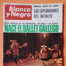 Coleccionismo de Revista Blanco y Negro: BLANCO Y NEGRO. 26 MARZO 1966. NACE EL BALLET GALLEGO. Nº 2812 - DIVERSOS AUTORES. Lote 43525325