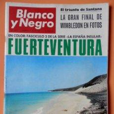Collectionnisme de Magazine Blanco y Negro: BLANCO Y NEGRO. 9 JULIO 1966. EL TRIUNFO DE SANTANA. LA GRAN FINAL DE WIMBLEDON EN FOTOS. Nº 2827 - . Lote 43525327