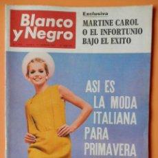 Coleccionismo de Revista Blanco y Negro: BLANCO Y NEGRO. 18 FEBRERO 1967. ASÍ ES LA MODA ITALIANA PARA PRIMAVERA Y VERANO. Nº 2859 - DIVERSOS. Lote 43525433