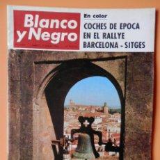 Coleccionismo de Revista Blanco y Negro: BLANCO Y NEGRO. 9 MARZO 1968. COCHES DE ÉPOCA EN EL RALLYE BARCELONA-SITGES. Nº 2914 - DIVERSOS AUTO. Lote 43525460