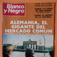 Coleccionismo de Revista Blanco y Negro: BLANCO Y NEGRO. 27 MAYO 1972. ALEMANIA, EL GIGANTE DEL MERCADO COMÚN. Nº 3134 - DIVERSOS AUTORES. Lote 43525490