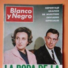 Coleccionismo de Revista Blanco y Negro: BLANCO Y NEGRO. 13 MAYO 1967. LA BODA DE LA INFANTA PILAR. Nº 2871 - DIVERSOS AUTORES. Lote 43525491