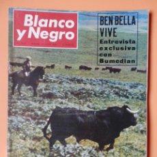 Coleccionismo de Revista Blanco y Negro: BLANCO Y NEGRO. 14 MAYO 1966. EL TORO Y EL CAMPO. Nº 2819 - DIVERSOS AUTORES. Lote 43525492