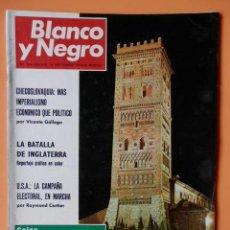 Coleccionismo de Revista Blanco y Negro: BLANCO Y NEGRO. 14 SEPTIEMBRE 1968. LA BATALLA DE INGLATERRA. Nº 2941 - DIVERSOS AUTORES. Lote 43525517