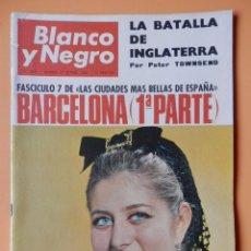 Coleccionismo de Revista Blanco y Negro: BLANCO Y NEGRO. 17 SEPTIEMBRE 1966. BARCELONA (1ª PARTE). Nº 2837 - DIVERSOS AUTORES. Lote 43525577