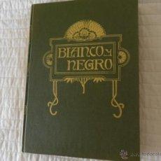 Coleccionismo de Revista Blanco y Negro: REVISTA BLANCO Y NEGRO LOTE DE 9 DEL Nº3496 AL Nº3504 ENCUADERNADAS CON TAPA DURA EN EXCELENTE ESTAD. Lote 43572591