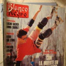 Coleccionismo de Revista Blanco y Negro: REVISTA BLANCO Y NEGRO 1990 LUCHO GATICA CON LA MUERTE EN LOS TALONES LOT100. Lote 43839248
