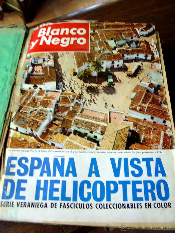 DOSIER CON 12 FASCÍCULOS DE LA REVISTA BLANCO Y NEGRO DE 1967 (Coleccionismo - Revistas y Periódicos Modernos (a partir de 1.940) - Blanco y Negro)