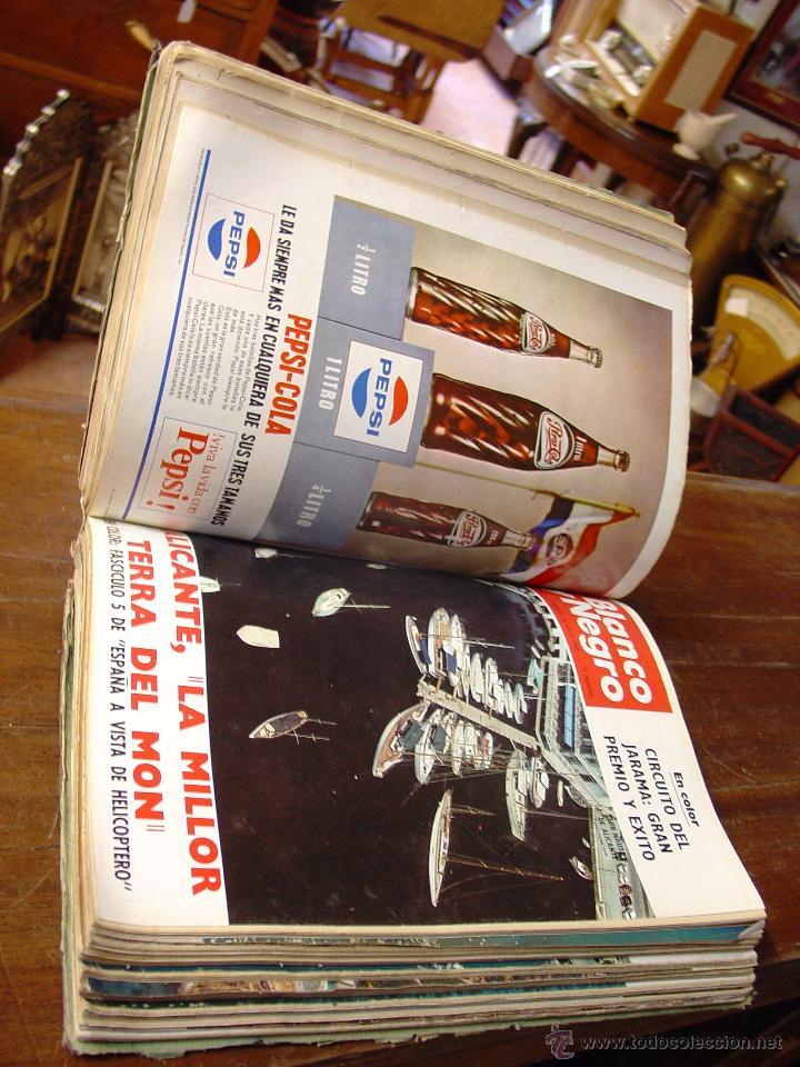 Coleccionismo de Revista Blanco y Negro: DOSIER CON 12 FASCÍCULOS DE LA REVISTA BLANCO Y NEGRO DE 1967 - Foto 5 - 44075910