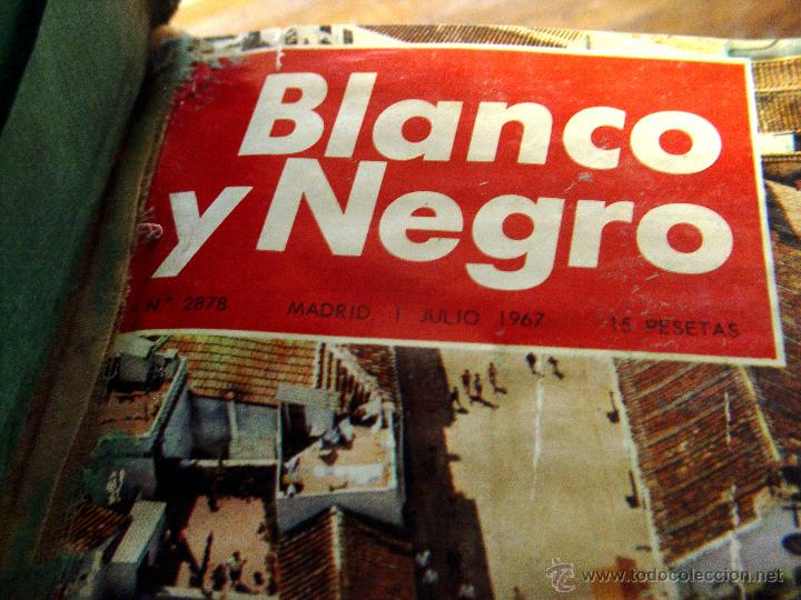 Coleccionismo de Revista Blanco y Negro: DOSIER CON 12 FASCÍCULOS DE LA REVISTA BLANCO Y NEGRO DE 1967 - Foto 10 - 44075910
