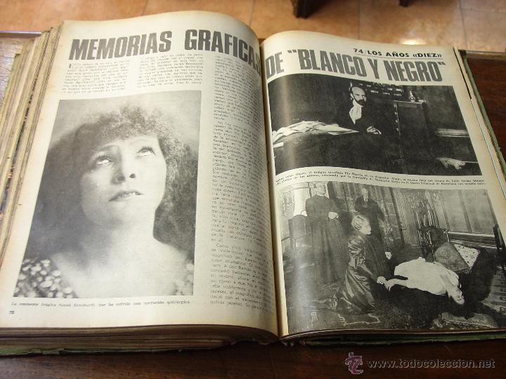 Coleccionismo de Revista Blanco y Negro: DOSIER CON 12 FASCÍCULOS DE LA REVISTA BLANCO Y NEGRO DE 1967 - Foto 14 - 44075910
