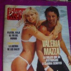 Coleccionismo de Revista Blanco y Negro: BLANCO NEGRO Nº 4004- 1996- VALERIA MAZZA - CARLOS DIANA GALES - VERMEER - SIN USAR STOCK KIOSKO. Lote 45003640