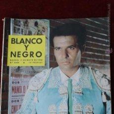 Coleccionismo de Revista Blanco y Negro: BLANCO Y NEGRO Nº 2402 1958 FRANCISCO RABAL EN LOS CLARINES DEL MIEDO MADRID. Lote 45059330