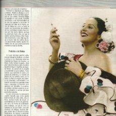 Colecionismo de Revistas Preto e Branco: ESTRELLITA CASTRO - HISTORIA DE COPLA Y EL FLAMENCO EN BLANCO Y NEGRO N 3851 DE ABRIL 1993. Lote 45305725