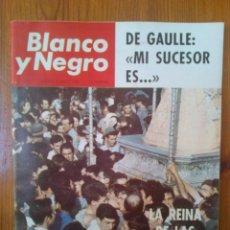 Coleccionismo de Revista Blanco y Negro: REVISTA BLANCO Y NEGRO, NÚMERO 2770 DE FECHA 5 DE JUNIO DE 1965. ESPECIAL LA REINA DE LAS MARISMAS. Lote 107802475