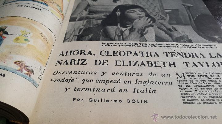 Coleccionismo de Revista Blanco y Negro: encuadernación blanco y negro 1962 (enero y febrero). libro revista - Foto 3 - 45902091