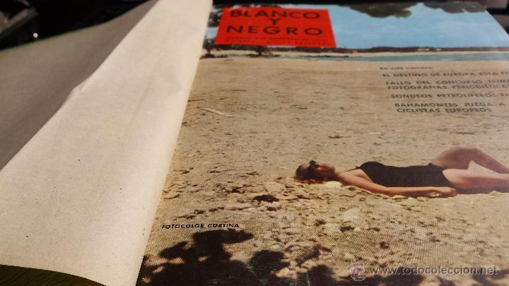 Coleccionismo de Revista Blanco y Negro: encuadernación blanco y negro 1959. septiembre y octubre. libro revista - Foto 2 - 45902317