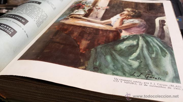 Coleccionismo de Revista Blanco y Negro: encuadernación blanco y negro 1959. septiembre y octubre. libro revista - Foto 3 - 45902317