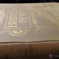 Coleccionismo de Revista Blanco y Negro: ENCUADERNACIÓN BLANCO Y NEGRO 1957 SEPTIEMBRE Y OCTUBRE. LIBRO REVISTA. Lote 45902447