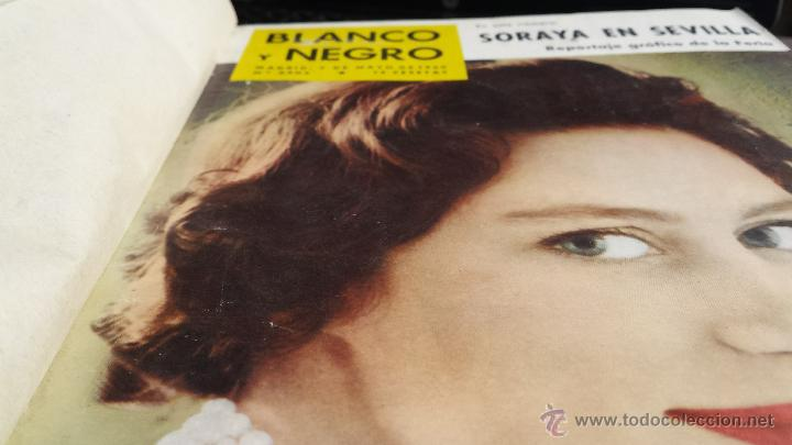 Coleccionismo de Revista Blanco y Negro: encuadernación blanco y negro 1960 mayo y junio libro revista - Foto 2 - 45902501