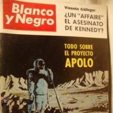 Coleccionismo de Revista Blanco y Negro: REVISTA BLANCO Y NEGRO Nº 2846 1966 TODO SOBRE EL PROYECTO APOLO ANTES DE 6 MESES LA50. Lote 46102268