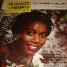 Coleccionismo de Revista Blanco y Negro: BLANCO Y NEGRO- Nº 2650 MISS NACIONES UNIDAS- SOFIA LOREN. Lote 46401581