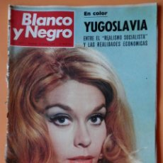 Coleccionismo de Revista Blanco y Negro: BLANCO Y NEGRO. 13 ABRIL 1968. TERESA GIMPERA DE LA TV AL CINE. Nº 2919 - DIVERSOS AUTORES. Lote 46423424