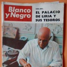 Coleccionismo de Revista Blanco y Negro: BLANCO Y NEGRO. 5 FEBRERO 1966. PICASSO, OCIO Y TRABAJO. Nº 2805 - DIVERSOS AUTORES. Lote 46423554