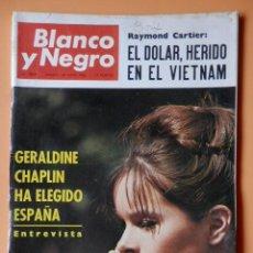Coleccionismo de Revista Blanco y Negro: BLANCO Y NEGRO. 18 JUNIO 1966. GERALDINE CHAPLIN HA ELEGIDO ESPAÑA. Nº 2824 - DIVERSOS AUTORES. Lote 46423602