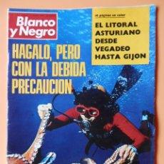 Colecionismo de Revistas Preto e Branco: BLANCO Y NEGRO. 12 AGOSTO 1972. HÁGALO, PERO CON LA DEBIDA PRECAUCIÓN. Nº 3145 - DIVERSOS AUTORES. Lote 46423782