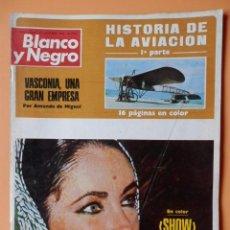 Colecionismo de Revistas Preto e Branco: BLANCO Y NEGRO. 29 SEPTIEMBRE 1973. SHOW LIZ TAYLOR EN SAN SEBASTIÁN. Nº 3204 - DIVERSOS AUTORES. Lote 46423936