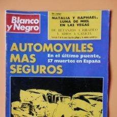 Colecionismo de Revistas Preto e Branco: BLANCO Y NEGRO. 9 AGOSTO 1972. AUTOMÓVILES MÁS SEGUROS. Nº 3144 - DIVERSOS AUTORES. Lote 46424024