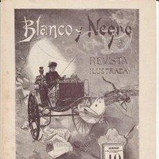 Coleccionismo de Revista Blanco y Negro: BLANCO Y NEGRO - REPRODUCCION REVISTA DOMINICAL Nº 1 - AÑO 1891- NUEVA - VER FOTO. Lote 47012199