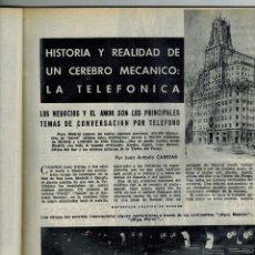 Coleccionismo de Revista Blanco y Negro: AÑO 1959 TELEFONICA BALLET PILAR LOPEZ RAFAEL PADIAL PEREGRINO SOCIEDAD CERVENTINA TINTIN COMIC. Lote 47082750
